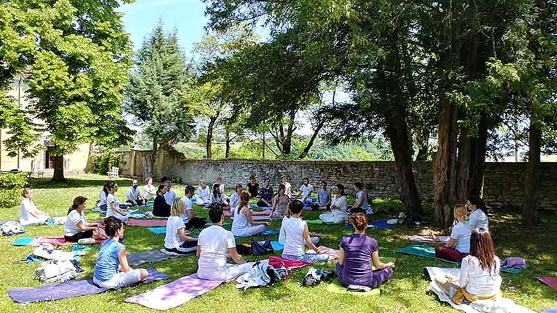 Seminario Residenziale di Yoga al tempio di Prabhupada Desh