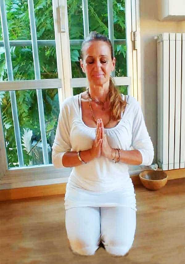 Rossella-Pesci insegnante yoga per bambini